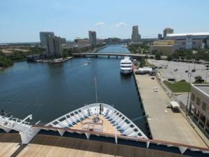 Tampa port.