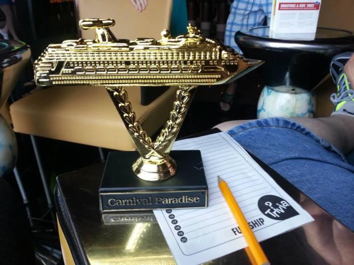 Winner of the trivia contest!