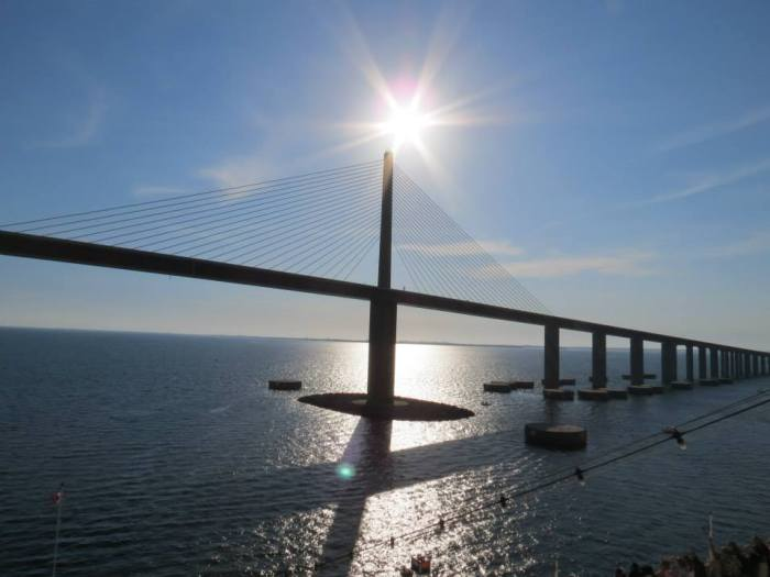 Sunshine Skyway Bridge.