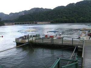 Boat dock to Rancho Marina