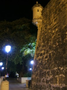 Outside the city walls