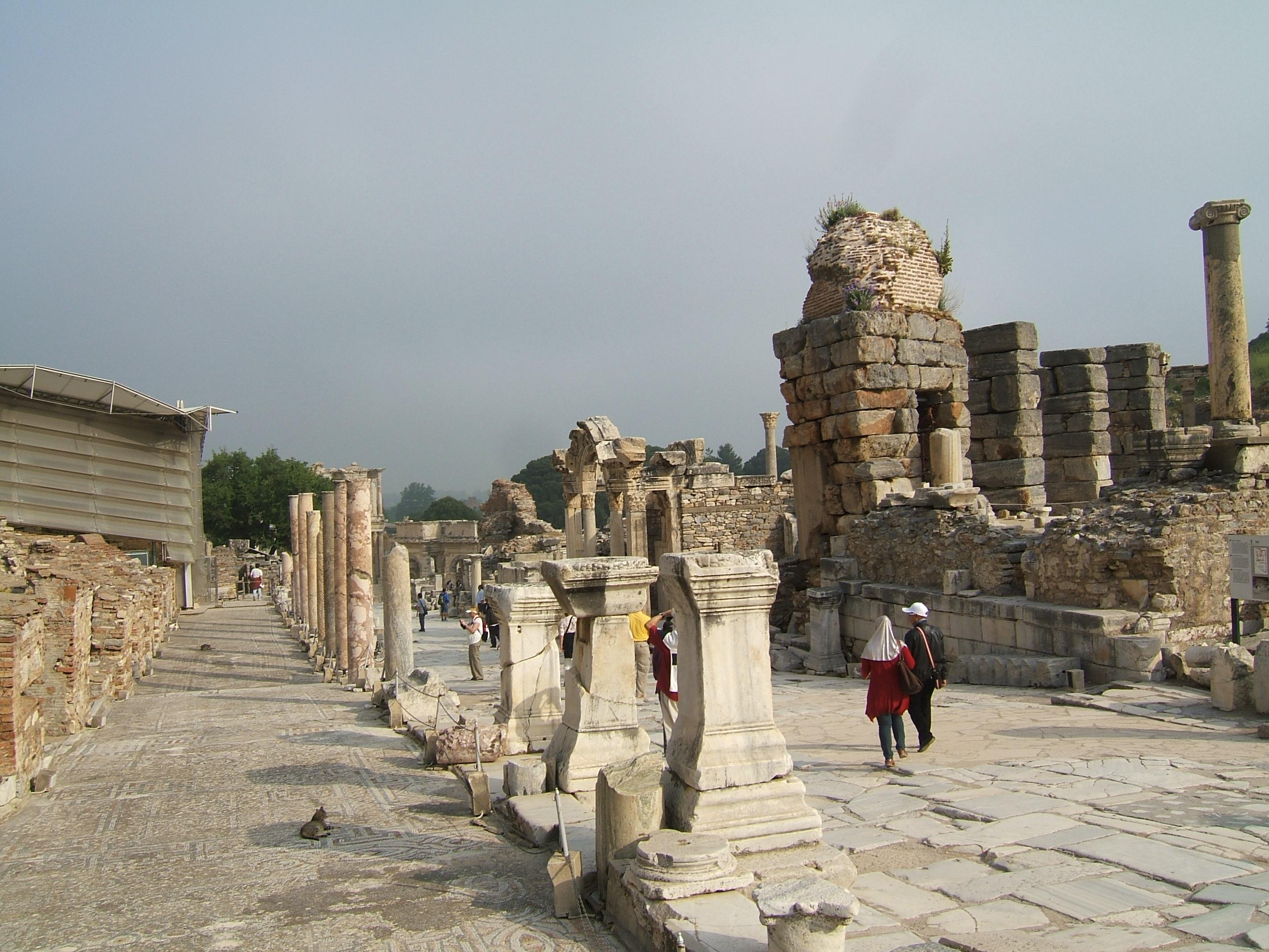 Cruise to turkey ultimate ephesus sunny sky blue - Ephesus turkey cruise port ...