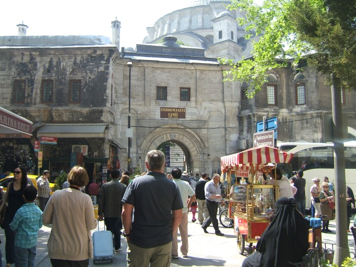 The entrance, one of many, to the Grand Bazaar, Istanbul