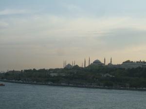 Sailing away fron Istanbul