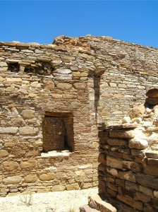 Pueblo Bonito --very much in tact 1000 years later.