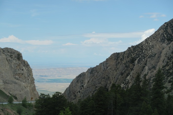 Rt. 14A over the Bighorns